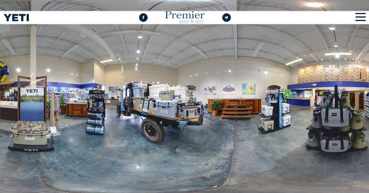 Premier Pools Virtual Showroom Tour
