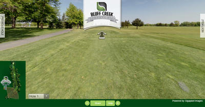 Bluff Creek Golf Course Virtual Tour - Gigapixel Imaging
